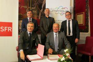 Eure-et-Loir Numérique et SFR Collectivités concrétisent l
