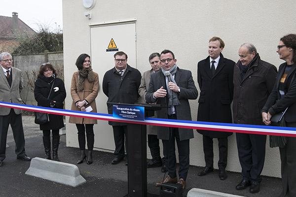 Inauguration de la Fibre à Bailleau-Armenonville