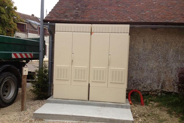 Plus de deux tiers des armoires de Montées en Débit misent en service